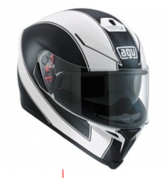 AGV K5 ENLACE MATTE WHITE/BLACK