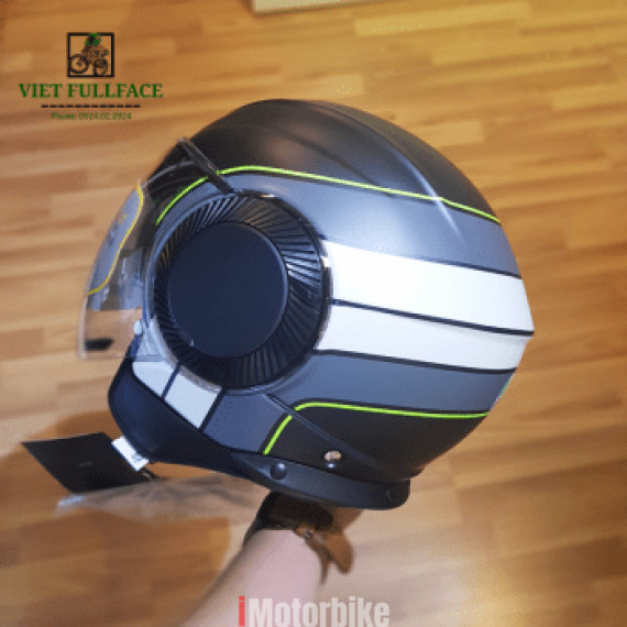 AGV ORBYT Brera Black Grey Green