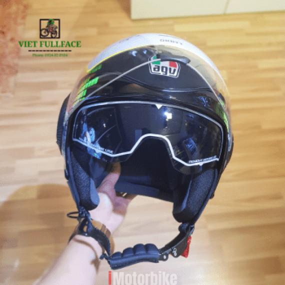 AGV Orbyt Ginza Black Green