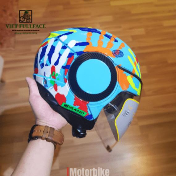 AGV Orbyt Misano 2014 - Mũ bảo hiểm 3/4 AGV 2 kính