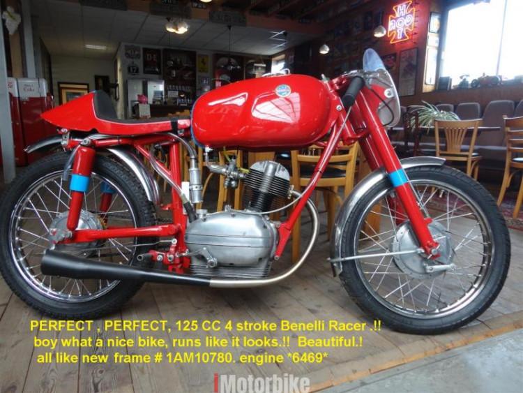 1959 Benelli Leonicino 125