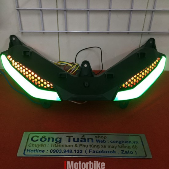 Đèn Led Demi Audi A9 Cho Exciter 150
