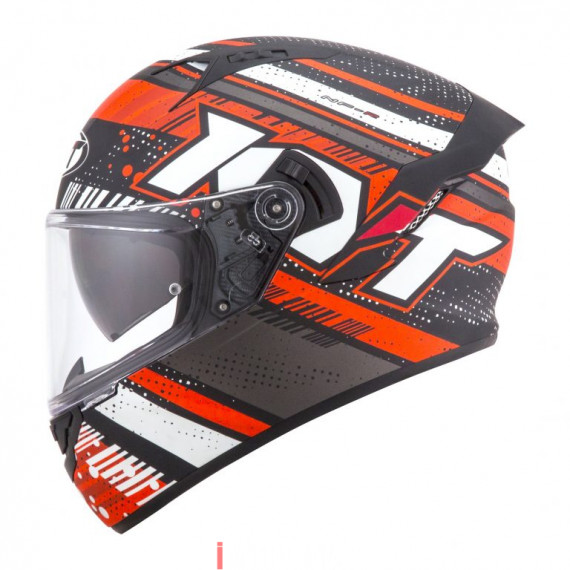 Fullface KYT NFR Energy Anthr/Red