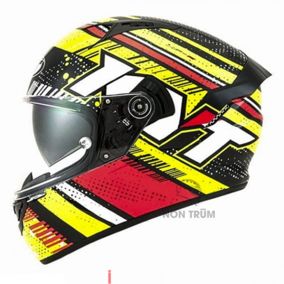 Fullface KYT NFR Energy Red/Yellow