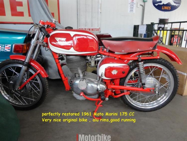 1961 Moto Morini Tresette grand Sport