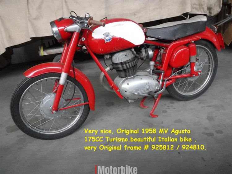 1958 MV Agusta Turismo
