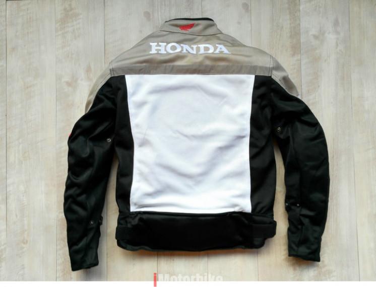 Áo giáp bảo hộ Honda 810 2 lớp màu xám