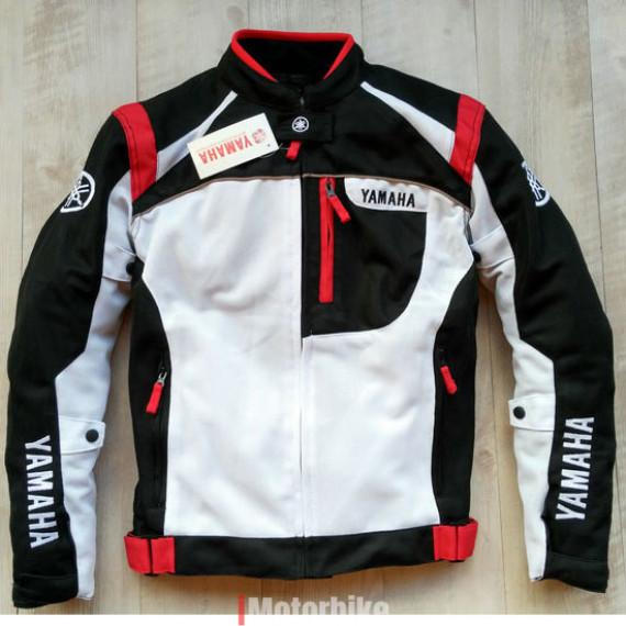 Áo giáp bảo hộ Yamaha 812 2 lớp màu trắng đỏ