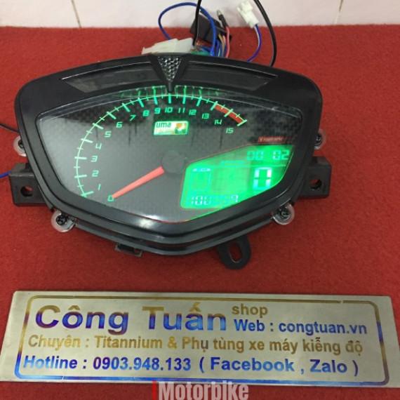 Đồng Hồ Uma Cho Sirius - Exciter 2010 Fake 1:1