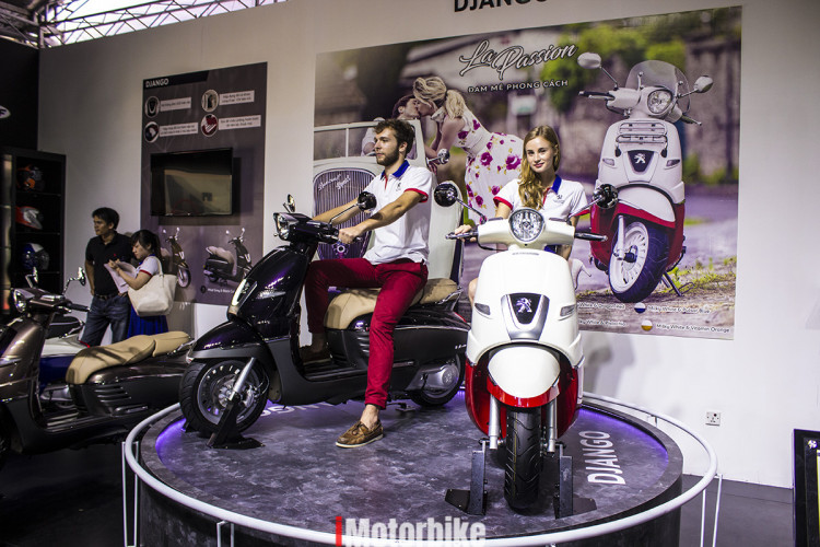 Xe Máy Peugeot Django 125cc (Đỏ)