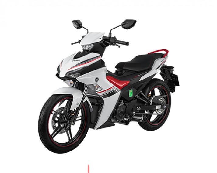 Yamaha Exciter 155 VVA pb tiêu chuẩn màu trắng