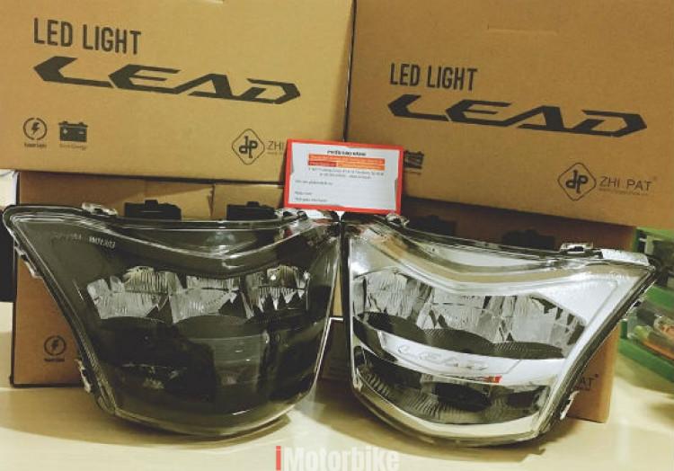 Đèn led 2 tầng cho LEAD 2017-2018 chính hãng ZHI.PAT (trắng)